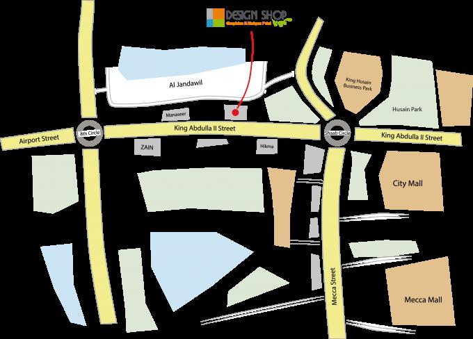 Design Shop Jordan Map
